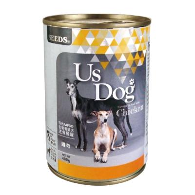 Seeds 聖萊西-Us Dog愛犬主食餐罐-雞肉風味(400gX24罐)