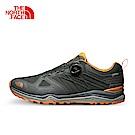 The North Face北面男款橘色防水登山徒步鞋|2VV8YTR