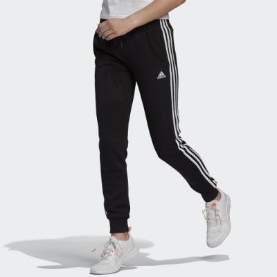 adidas 長褲 運動長褲 慢跑 健身 縮口 女款 黑 GM8733