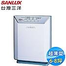 SANLUX台灣三洋 6-8坪 負離子超薄型空氣清淨機 ABC-M5