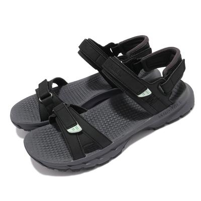 Merrell 涼鞋 Cedrus Convert 3 女鞋 緩衝 舒適 避震墊片 耐磨抓地 黑 藍 ML036238