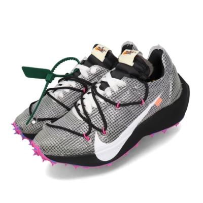 Nike 休閒鞋 Vapor Street 運動 女鞋 Off White 聯名 球鞋 穿搭 黑 白 CD8178001