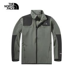 The North Face北面男款綠色保暖立領外套|46GL21L