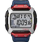TIMEX 天美時 X Red Bull 聯名 遠征系列限量電子錶-紅x藍x黑-54mm