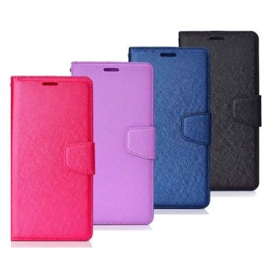 亞古奇 Samsung Note 10+ (6.8吋)月詩蠶絲紋時尚手機皮套