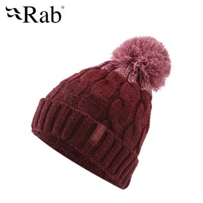 【RAB】Braid Beanie 保暖針織毛帽 腥紅 #QAA62