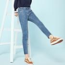 SEMIR森馬-超顯瘦彈性純色打底牛仔褲-女