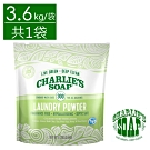 查理肥皂 Charlie s Soap 洗衣粉300次 3.6kg/袋(共1袋)