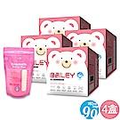 韓國BAILEY貝睿 感溫母乳儲存袋-基本型90入(4盒)
