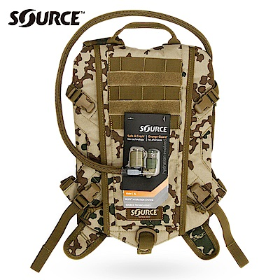 SOURCE Rider軍用水袋背包4001691503 迷彩