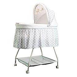 酷貝比 CUI BABY 新生兒嬰兒床/寶寶床 (娟白) 下單送蚊帳