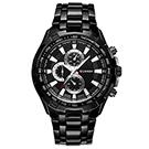 CURREN 卡瑞恩8023-商務時尚仿三眼都會手錶 (7色任選)