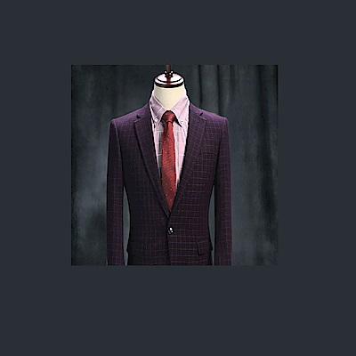 拉福   領帶6cm中窄版領帶拉鍊領帶(兒童紅紋)