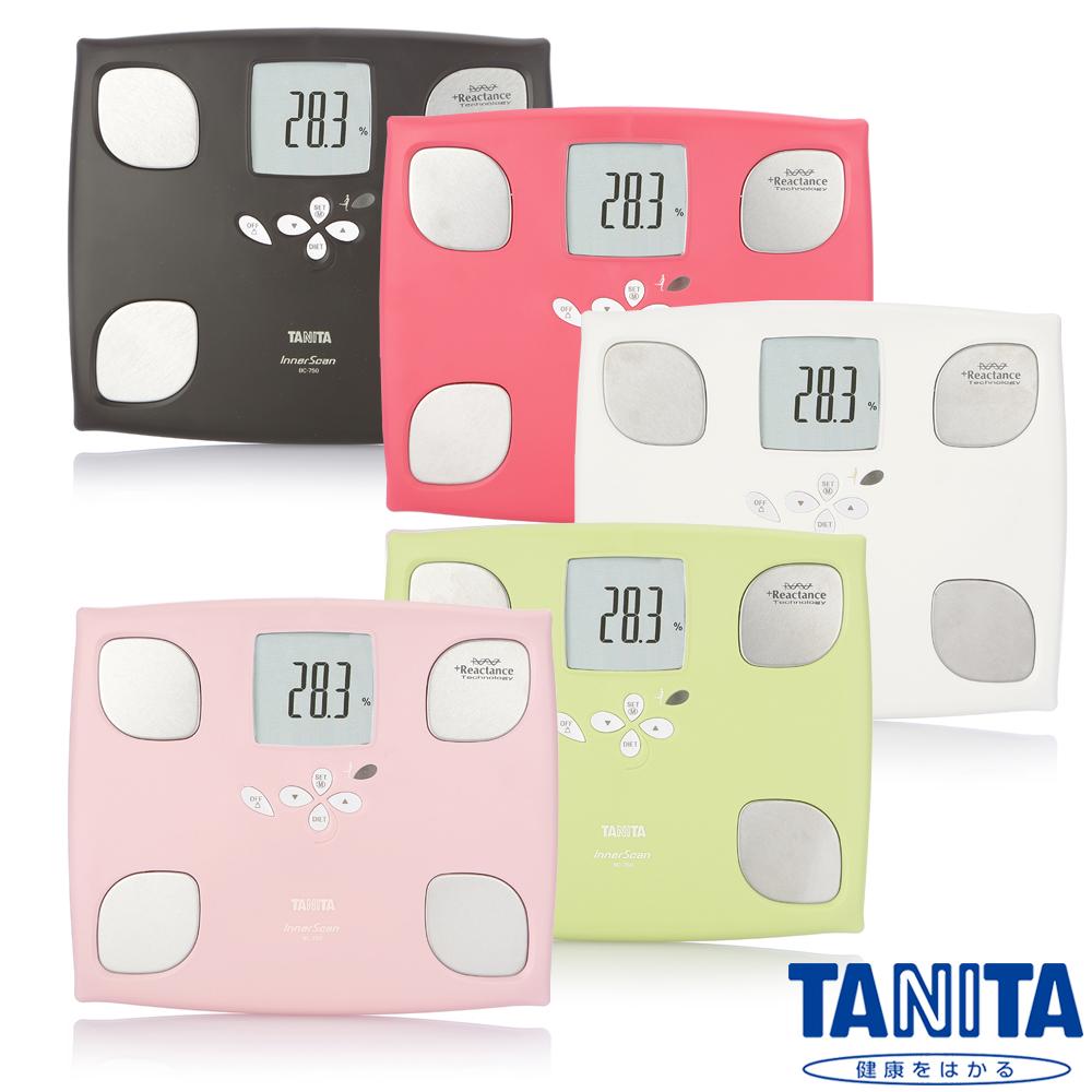 日本 TANITA 十合一女性減重模式體組成計 BC-750