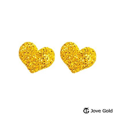 Jove gold 甜蜜耳語黃金耳環