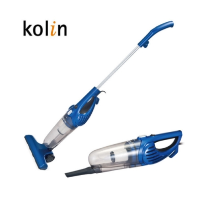 Kolin 歌林 手持直立兩用吸塵器 藍 KTC-HC300
