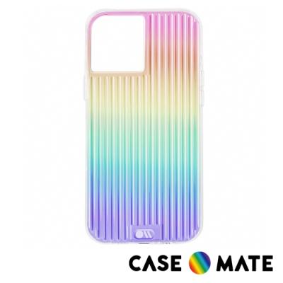 美國 Case-Mate iPhone 12 mini Tough Groove 彩虹波浪防摔抗菌手機保護殼