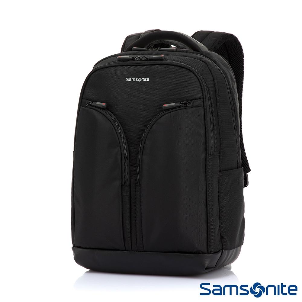 Samsonite新秀麗 Enprial-E 商務智慧型筆電後背包(黑)