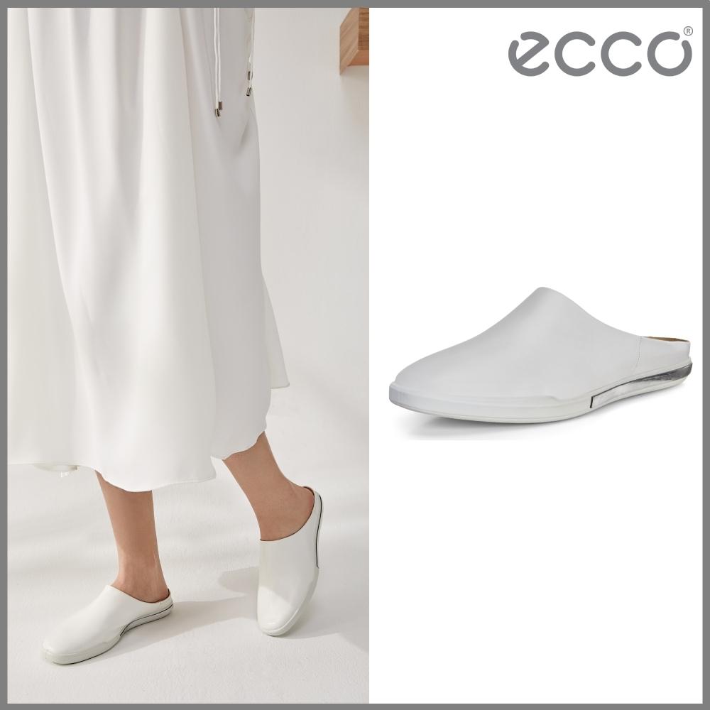 ECCO SIMPIL II W 極簡美型休閒鞋 女鞋 白色