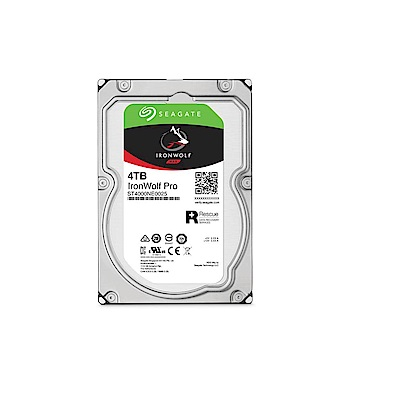 Seagate那嘶狼IronWolf Pro 4TB 3.5吋 NAS專用硬碟