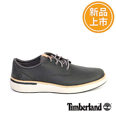 Timberland 男款黑色皮革休閒靴
