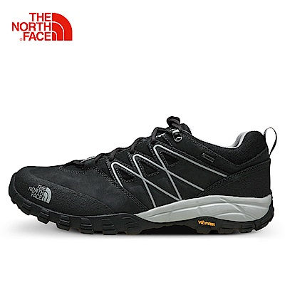 The North Face男款深灰防水徒步鞋