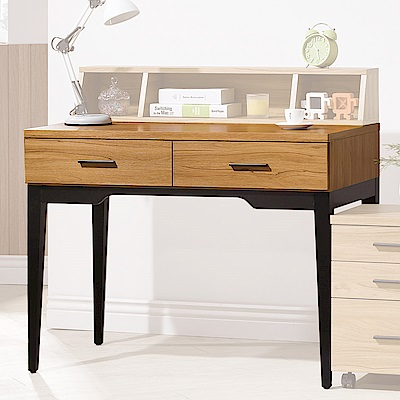 H&D 優植3.3尺二抽書桌