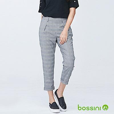 bossini女裝-彈性修身褲04黑