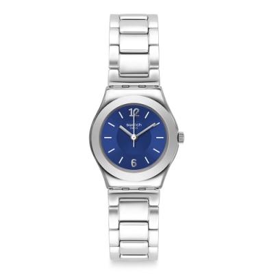 Swatch 金屬系列 LITTLESTEEL 金屬-藍面 -25mm