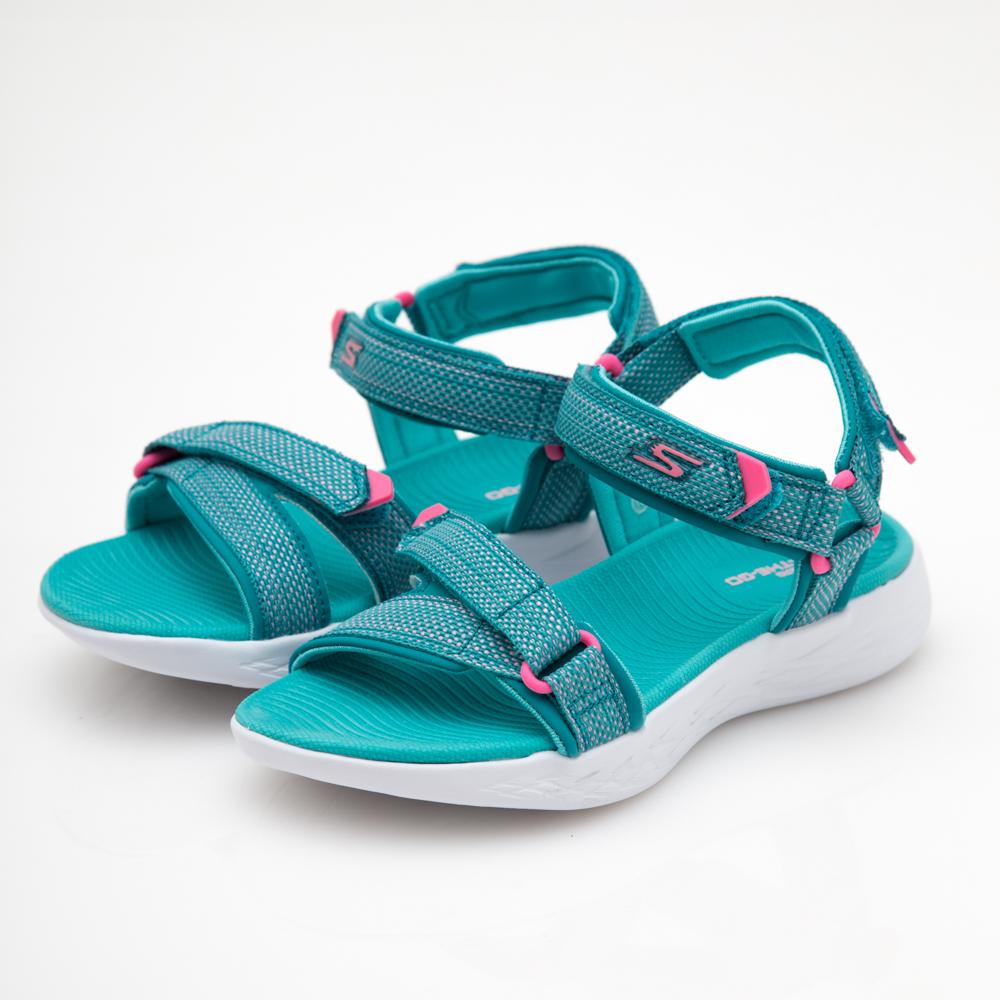 SKECHERS (童) 女童涼鞋 ON THE GO 600-86965LAQPK