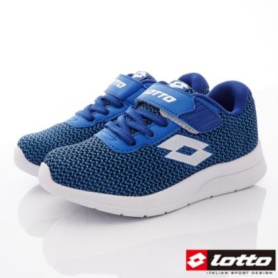 Lotto義大利運動鞋 緩震輕量跑鞋款 ZE056丈青(中小童段)C52