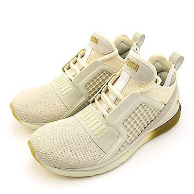 PUMA-女慢跑鞋18998802-淡黃