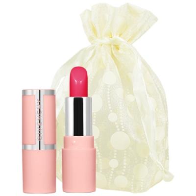 GIVENCHY 紀梵希 玫瑰誘惑潤色修護美唇膏精巧版(#202)(1.2g)旅行袋組