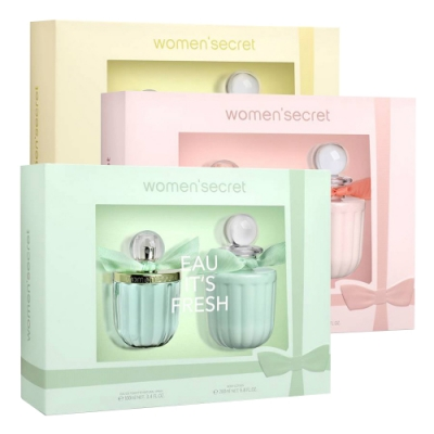 WOMEN SECRET 女性淡香水禮盒(三款任選)