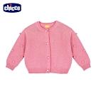 chicco-時尚女孩-棉毛混紡針織外套