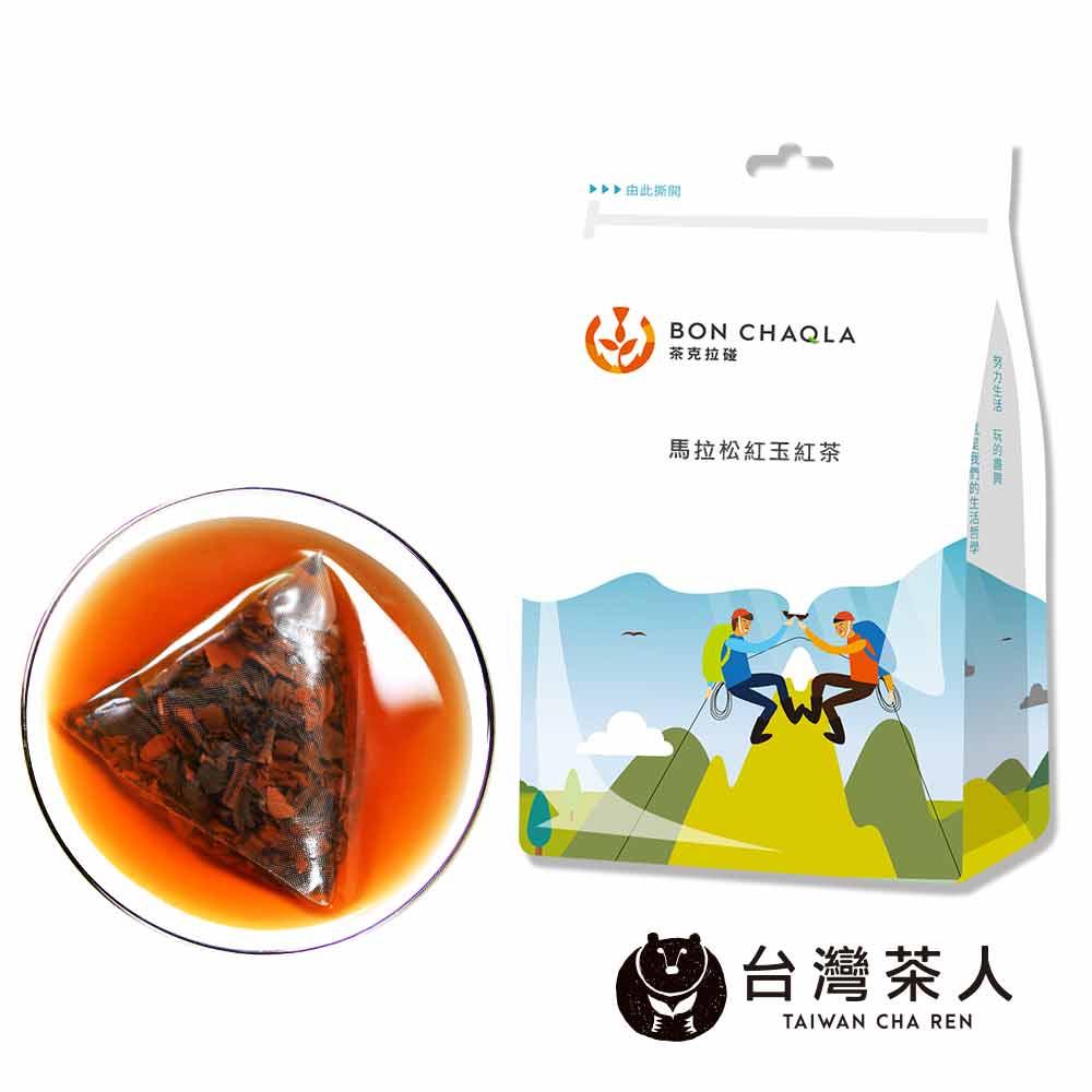 台灣茶人 馬拉松紅玉紅茶3角立體茶包(10入/袋)