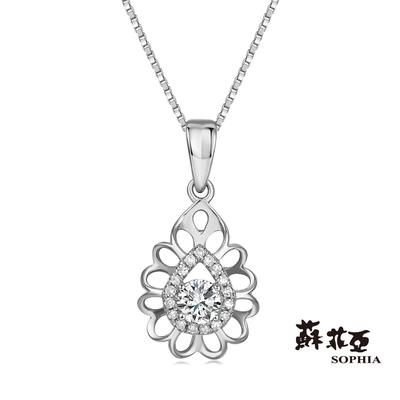 SOPHIA 蘇菲亞珠寶 - 深情 GIA 30分 D_SI1 18K 鑽石項墜
