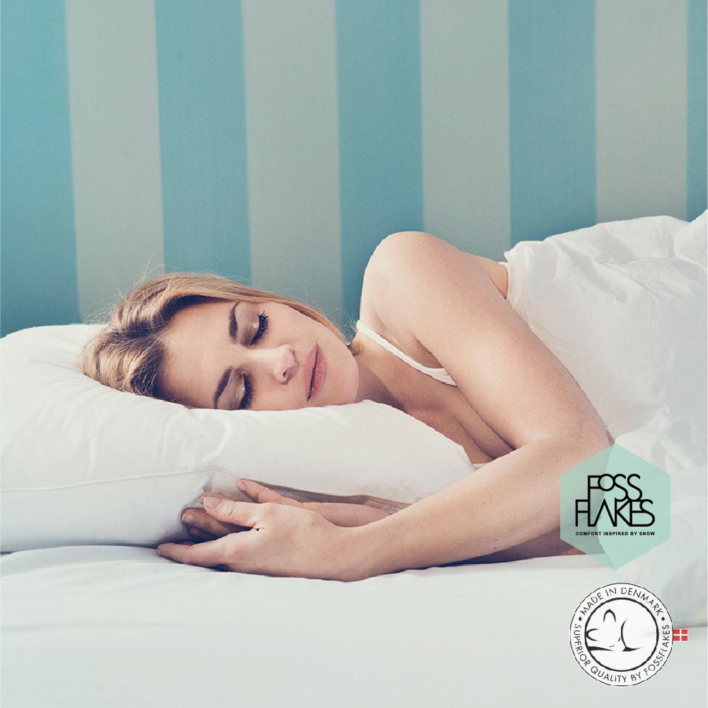 丹麥FOSSFLAKES防塵蟎超柔中高枕