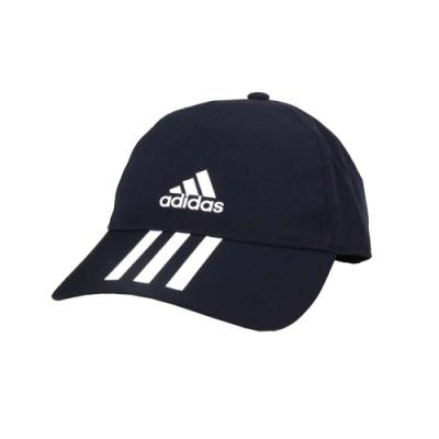 ADIDAS 運動帽-吸濕排汗 遮陽帽 防曬 帽子 鴨舌帽 愛迪達 FK0883 丈青白