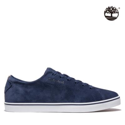 Timberland 男款海軍藍Skape Park絨面皮革牛津鞋|A3ZYB