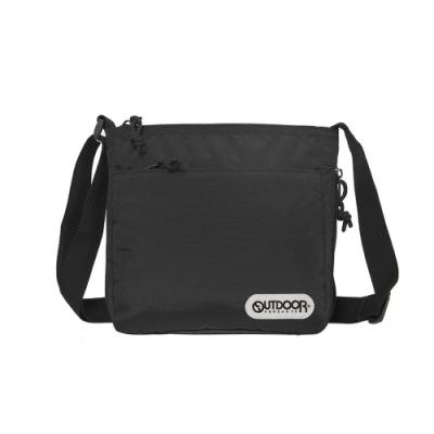 【OUTDOOR】側背包-黑色 OD101120BK