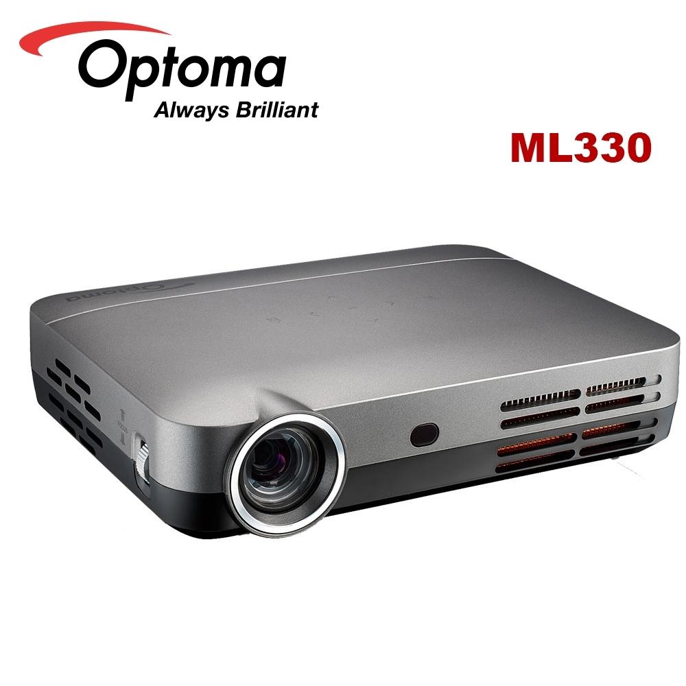 Optoma ML330 500流明 高清微型智慧LED投影機 銀色