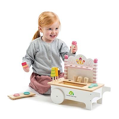 Tender Leaf Toys木製家家酒玩具-歡樂冰淇淋推車