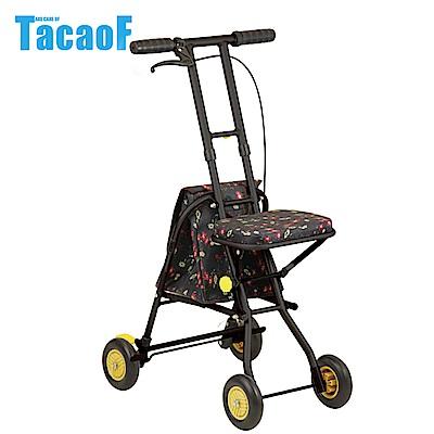 日本TacaoF幸和 標準型助步車SICP01型-花漾黑