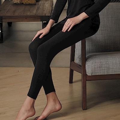 華歌爾-極衣恆溫M-LL 厚刷保暖褲(黑)保暖柔暖-吸水速乾
