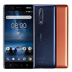 【拆封逾期品】NOKIA 8 (4G/64G) 雙主鏡頭智慧手機