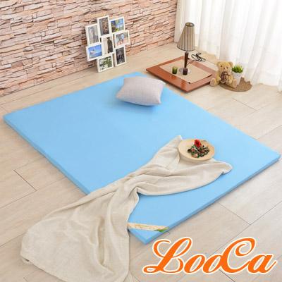 LooCa 吸濕排汗專利HT 5cm舒眠乳膠床墊(雙人5尺)