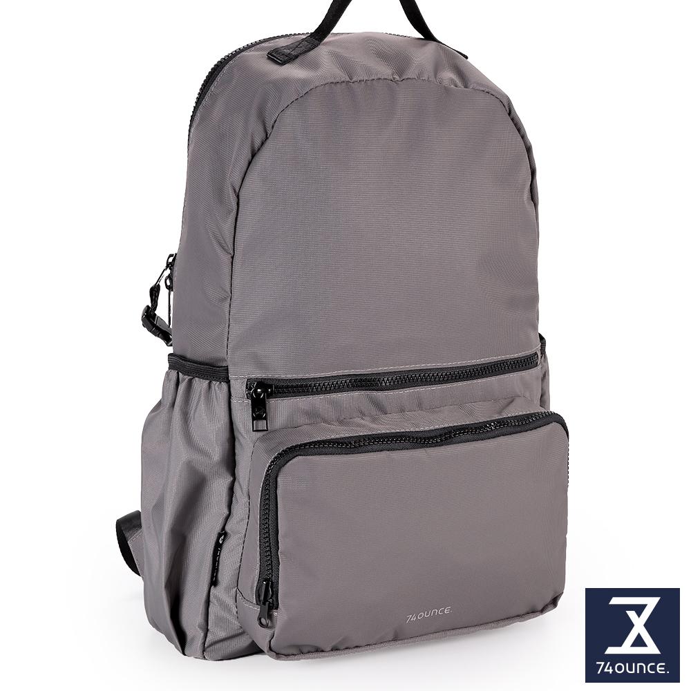 74盎司 Further 旅行後背包[TG-227]灰
