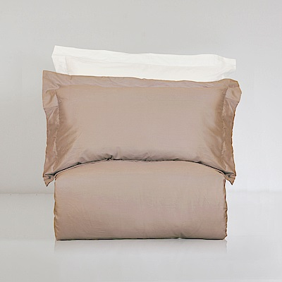 BUNNY LIFE 枕套-香草拿鐵-絲光精梳棉-純粹系列