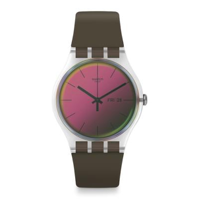 Swatch Transformation 系列手錶 POLARMY 一支獨秀-軍綠